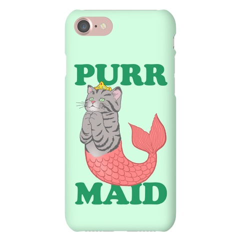Purr Maid Phone Case