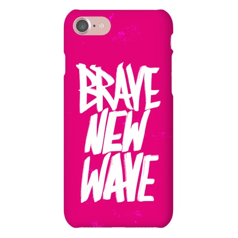 Brave New Wave Phone Case