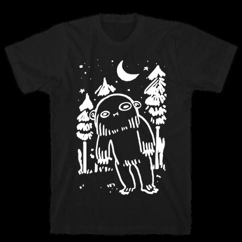 Yeti Spagetti Mens T-Shirt