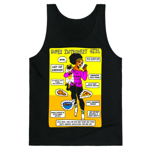 Super Introvert Girl Tank Top