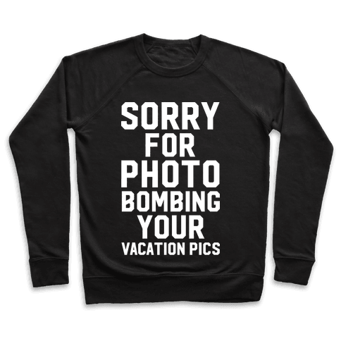 Sorry for Photobombing Pullover