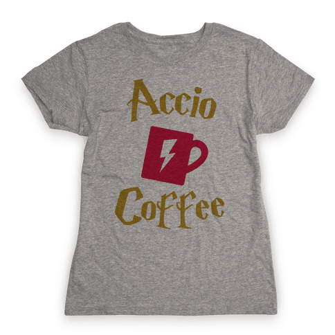 Accio Coffee Womens T-Shirt