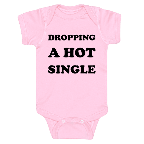 Dropping A Hit Single Baby Onesy