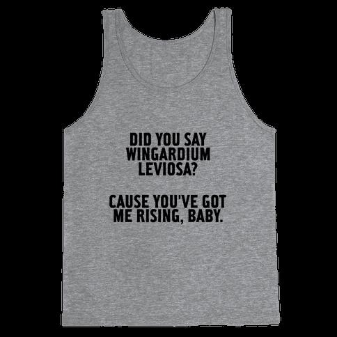 Wingardium Leviosa Tank Top