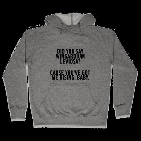 Wingardium Leviosa Hooded Sweatshirt