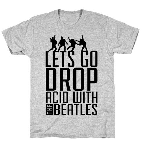 Trippy Cartoon Beatles T-Shirt