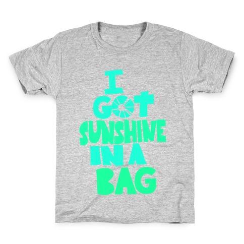 Sunshine in a Bag Kids T-Shirt