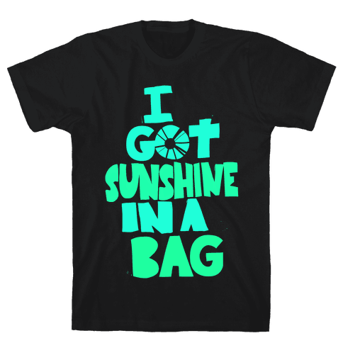 Sunshine in a Bag Mens T-Shirt
