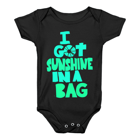 Sunshine in a Bag Baby Onesy