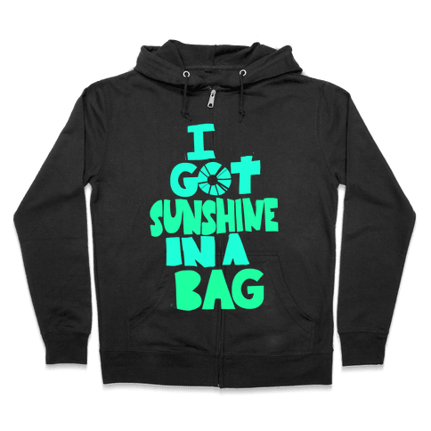 Sunshine in a Bag Zip Hoodie