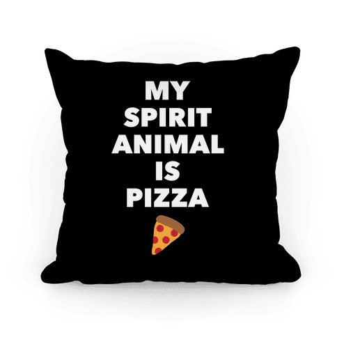Pizza Spirit Animal Pillow