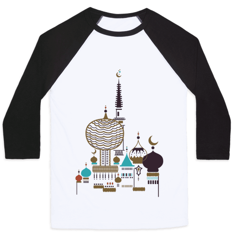 Russian Cathedral Baseball Tee