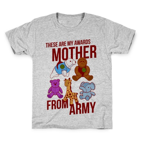 These Are My Awards, Mother Kids T-Shirt