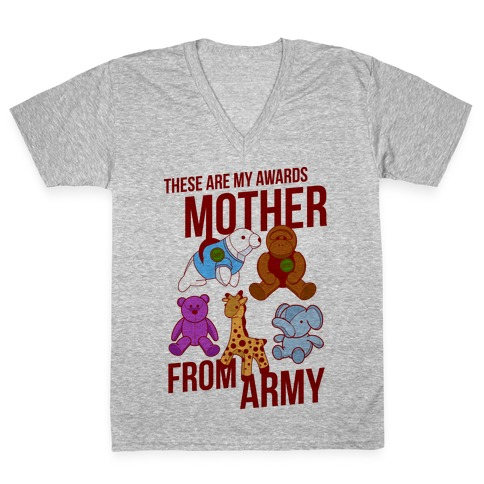 These Are My Awards, Mother V-Neck Tee Shirt