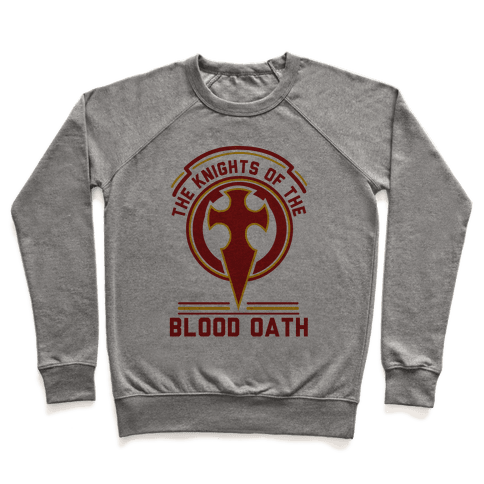 The Knights of The Blood Oath Pullover