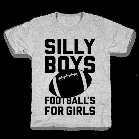 Silly Boys Kids T-Shirt