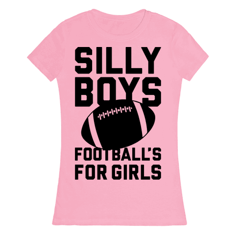Silly Boys Womens T-Shirt
