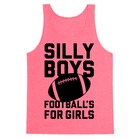 Silly Boys Tank Top