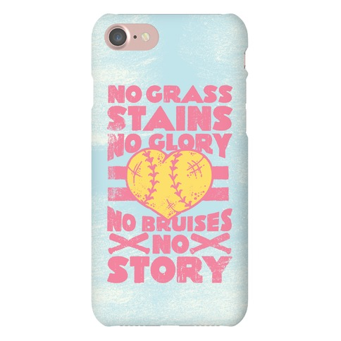 No Grass Stains No Glory Phone Case