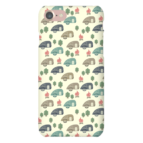 Camping Pattern Phone Case