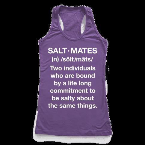 Salt Mates Racerback Tank Top