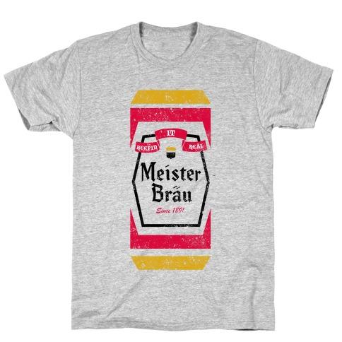 Meister Brau Vintage Mens T-Shirt