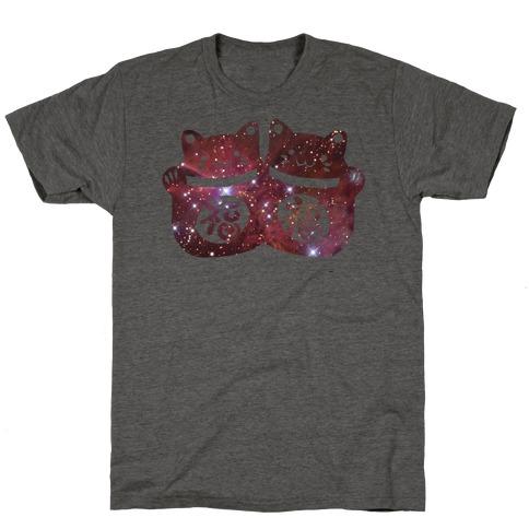 Cosmic Luck Cats T-Shirt