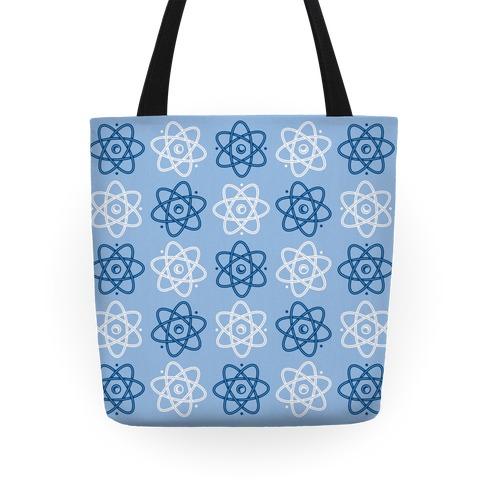 Atom Pattern Tote