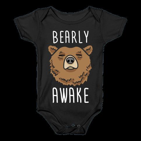 Bearly Awake Baby Onesy