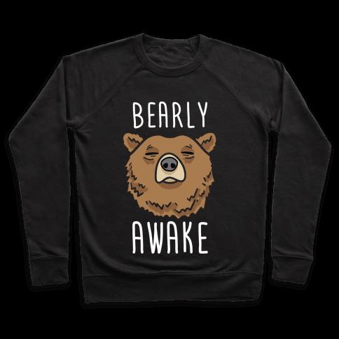 Bearly Awake Pullover