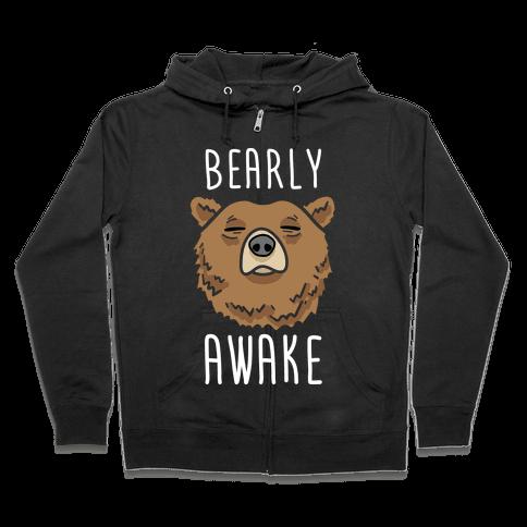 Bearly Awake Zip Hoodie