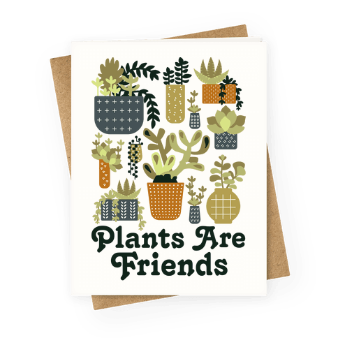 Plants Are Friends Retro