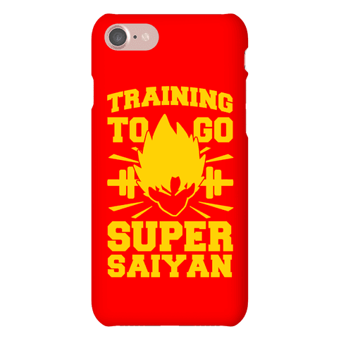 Training to Go Super Saiyan Phone Case