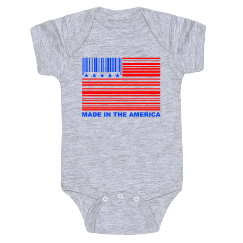 Made In America Baby Onesy