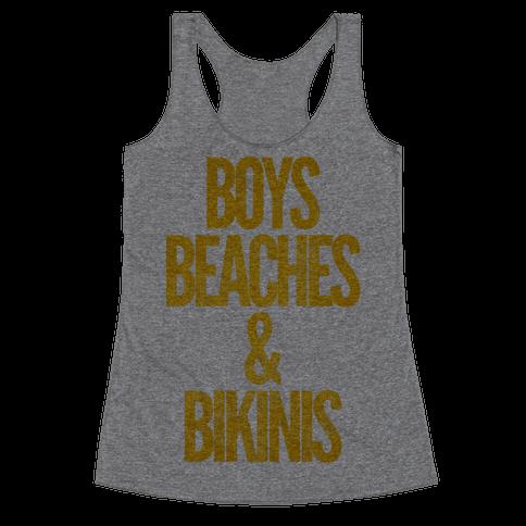 Boys Beaches & Bikinis Racerback Tank Top