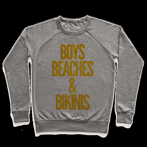 Boys Beaches & Bikinis Pullover