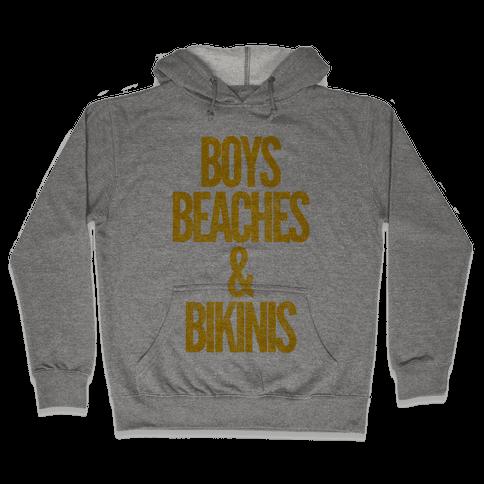 Boys Beaches & Bikinis Hooded Sweatshirt