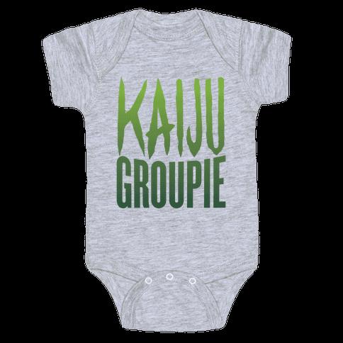Kaiju Groupie Baby Onesy
