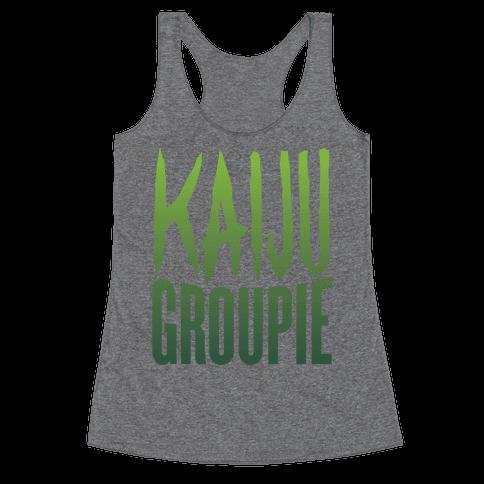 Kaiju Groupie Racerback Tank Top