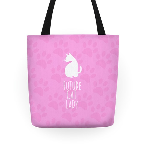 Future Cat Lady Tote