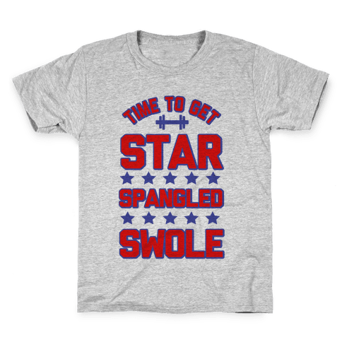 Star Spangled Swole Kids T-Shirt