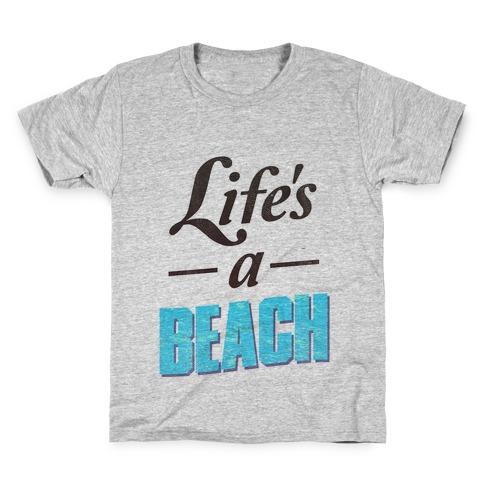 Life's a Beach (vintage tank) Kids T-Shirt