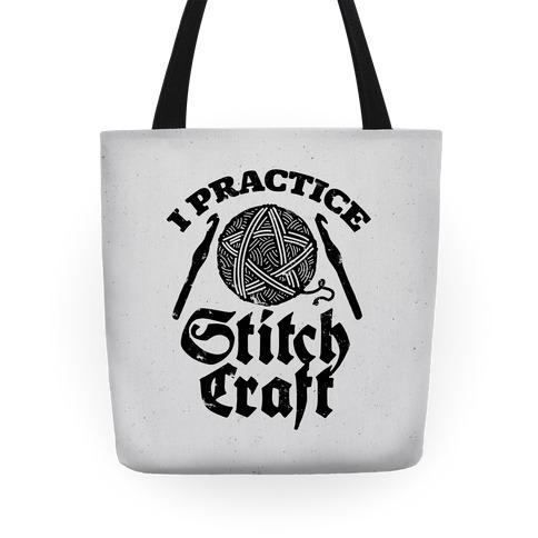 I Practice Stitchcraft Tote