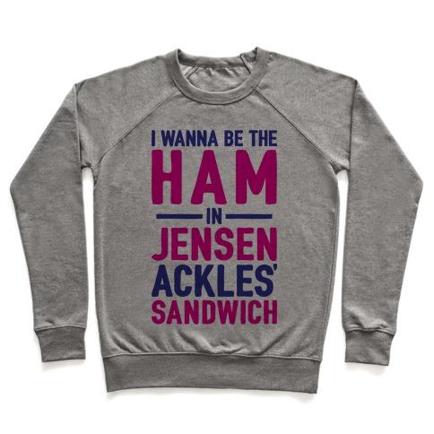The Ham In Jensen Ackles' Sandwich Pullover