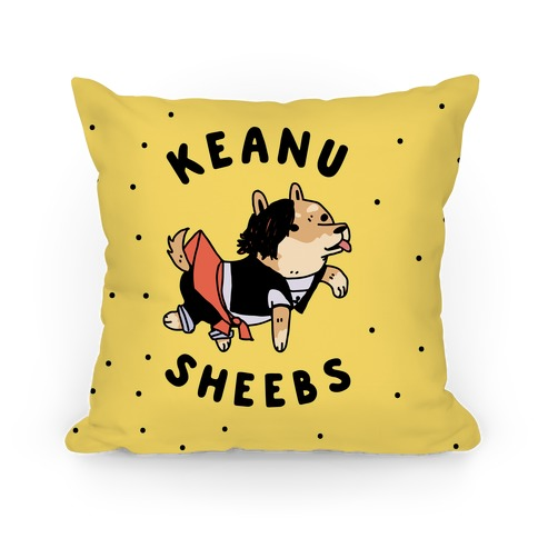 Keanu Sheebs Pillow