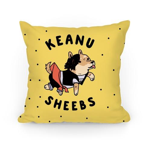 Keanu Sheebs Pillow