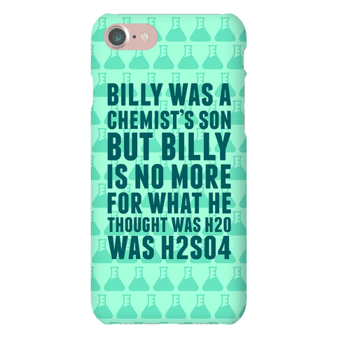 Billy Was A Chemist's Son Phone Case