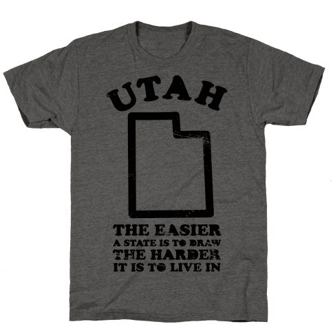 Utah The Easier A State Is To Draw