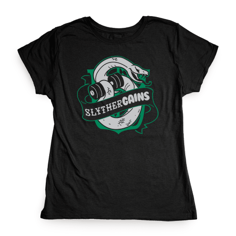 SlytherGAINS Womens T-Shirt