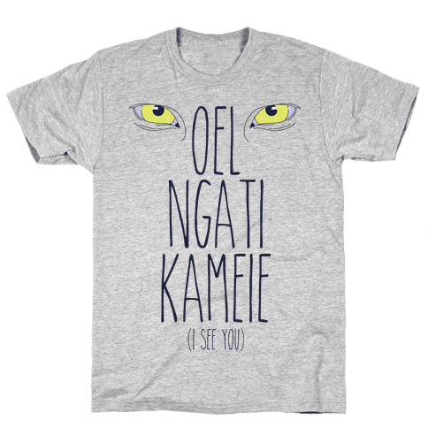 I See You (In Na'vi) Mens T-Shirt